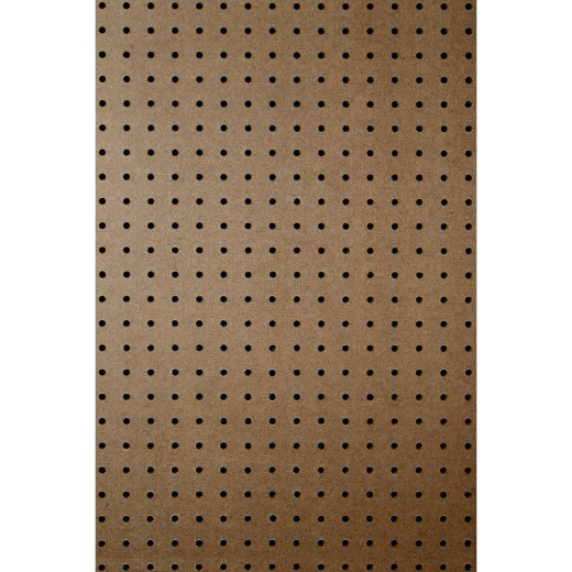 DPI 2 Ft. x 4 Ft. x 1/4 In. Brown Green Core Hardboard Pegboard