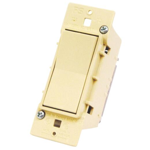 United States Hardware Ivory Electrical Switch