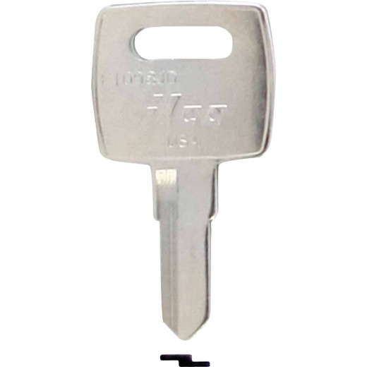 ILCO John Deere Nickel Plated Tractor Key, (10-Pack)