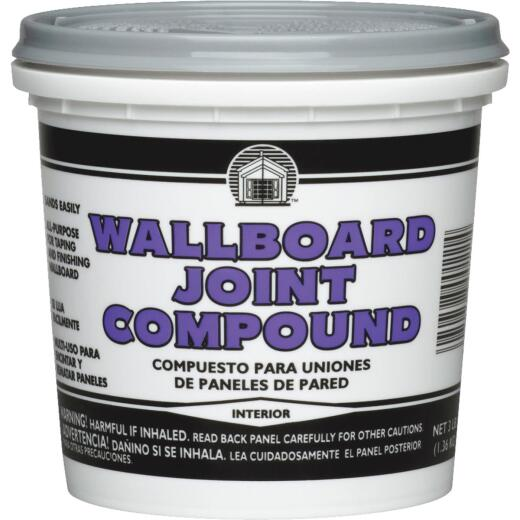 Dap 3 Lb. Pre-Mixed Wallboard Drywall Joint Compound