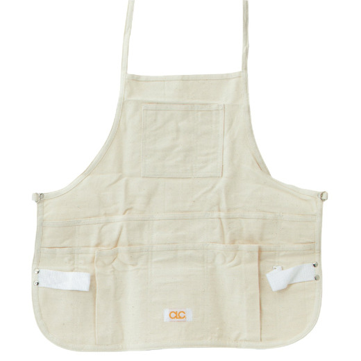 Custom Leathercraft 12-Pocket Canvas Bib Apron