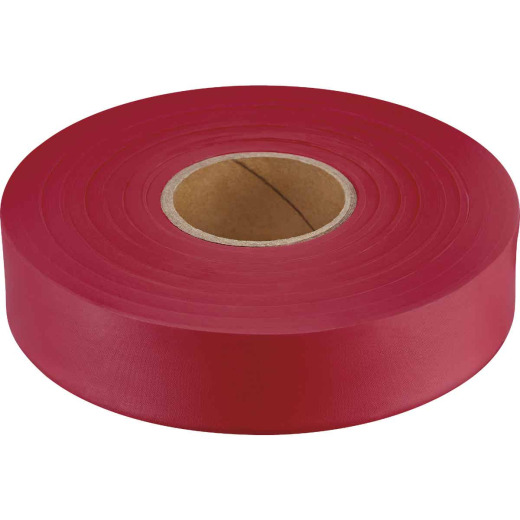 Empire 600 Ft. x 1 In. Red Flagging Tape