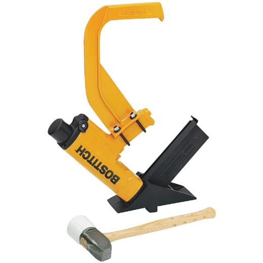 Bostitch 15-Gauge 1/2 In. Crown 2 In. Floor Stapler Kit