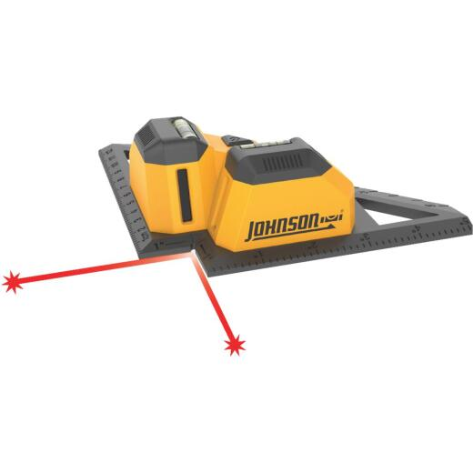 Johnson Level 23 Ft. Manual-Leveling Line Laser Level for Tile & Flooring