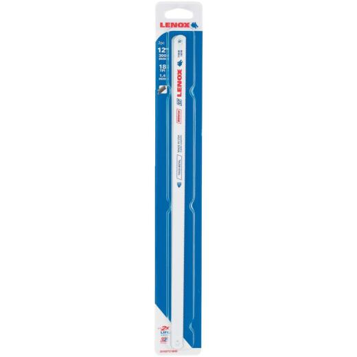 Lenox T2 12 In. x 18 TPI Bi-Metal Hacksaw Blade, Heavy Metal (2-Pack)