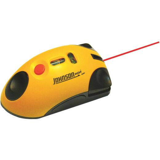 Johnson Level LaserMouse 30 Ft. Manual-Leveling Line Laser Level