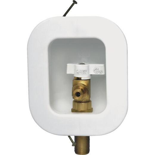 Oatey 12K Ice Maker Outlet Box with Nails