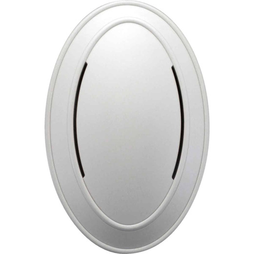 IQ America Step-Up Wired White Colonial Oval Door Chime