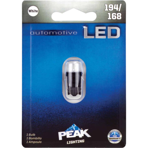 PEAK 194/168 12V Mini LED Automotive Bulb