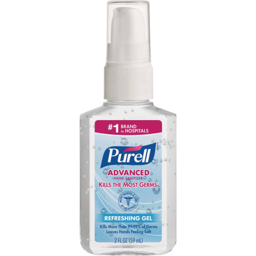 Purell 2 Oz. Advanced Hand Sanitizer Gel Pump