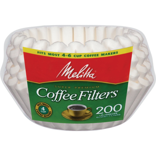 Melitta 4-6 Cup Coffee Filter (200-Pack)