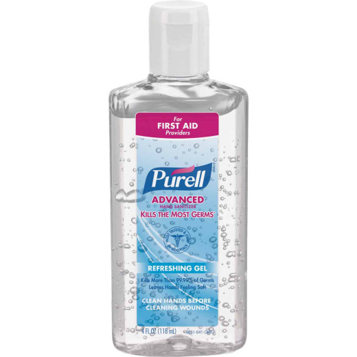 Purell 4 Oz. Advanced Hand Sanitizer Refreshing Gel Flip Cap Bottle