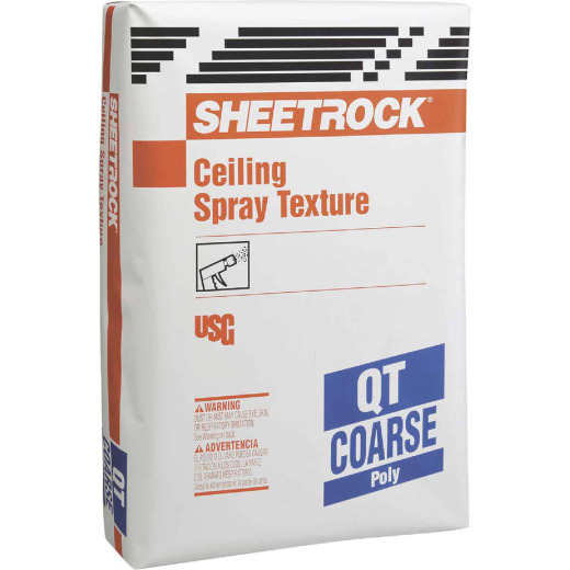 Sheetrock Popcorn-Coarse 40 Lb. Bag White Spray Texture Material