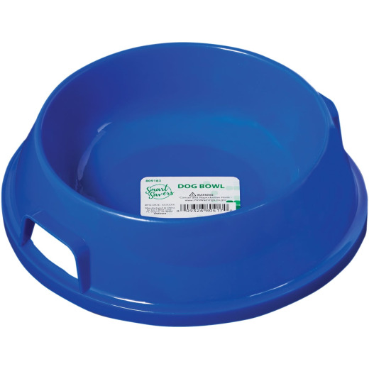 Smart Savers Plastic Round Medium Pet Food Bowl