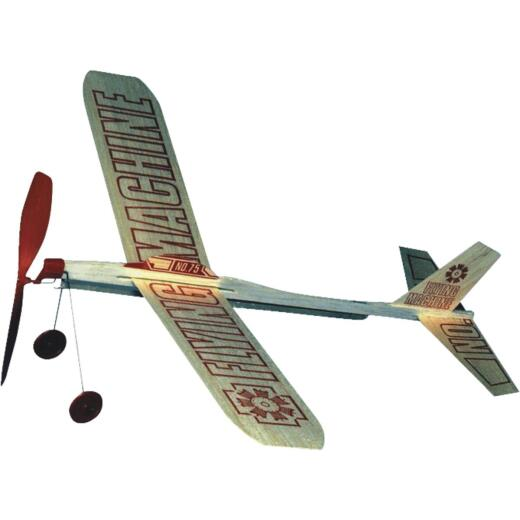 Paul K Guillow Flying Machine 17 In. Balsa Wood Glider Plane