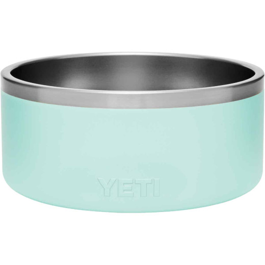 Yeti Boomer 8 Stainless Steel Round 8 C. Dog Food Bowl, Seafoam