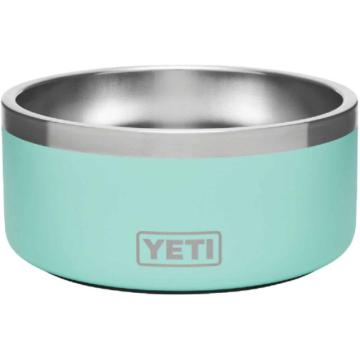 Yeti Boomer 4 Stainless Steel Round 4 C. Dog Food Bowl, Seafoam