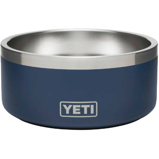 Yeti Boomer 4 Stainless Steel Round 4 C. Dog Food Bowl, Navy