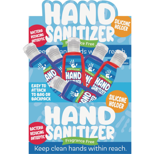 Kipp 1 Oz. Liquid Hand Sanitizer with Silicone Holder